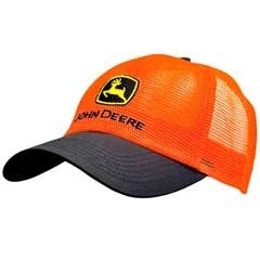 Hunter Orange Mesh Cap