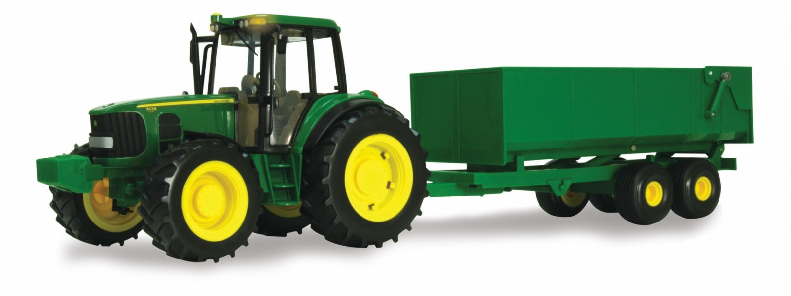 1/16 Big Farm Tractor with wagon