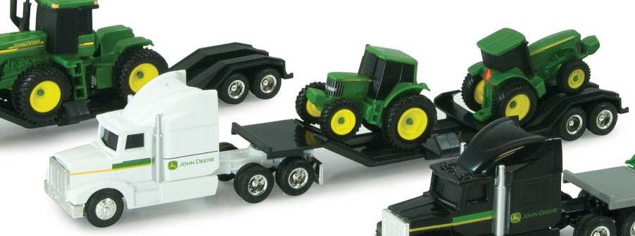 JD Semi-Hauler and Tractors