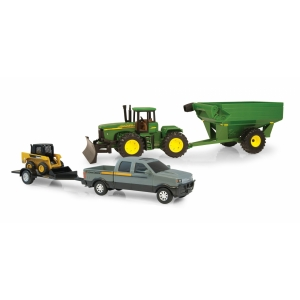 20cm JD Mega Hauling Set Grey