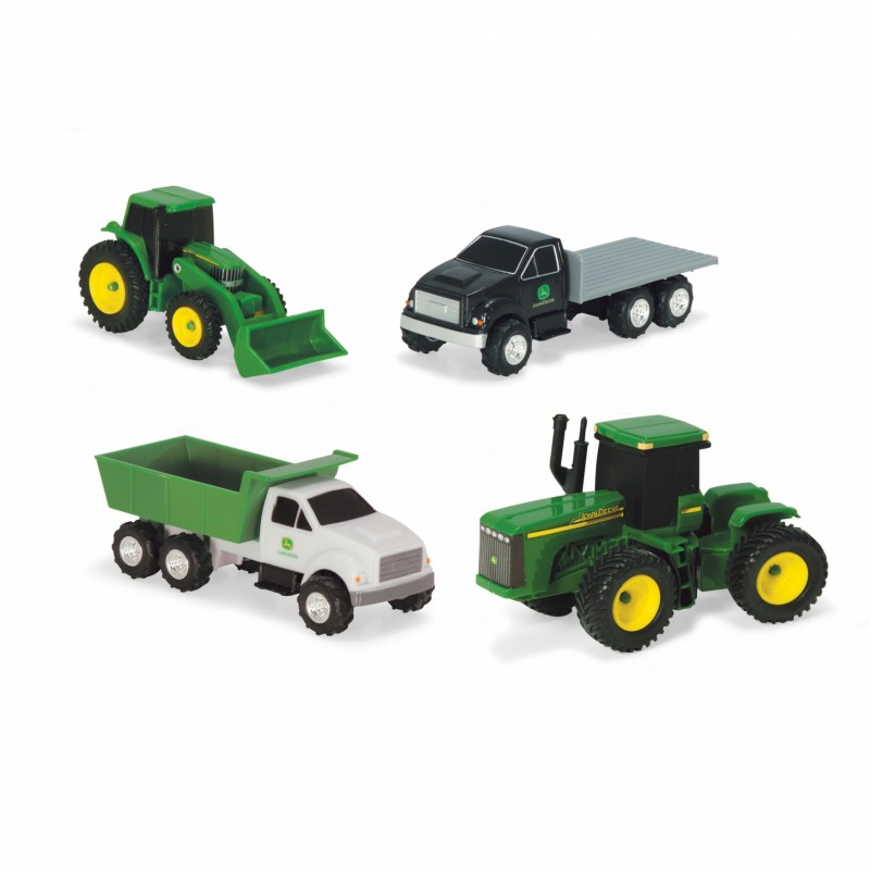 4 Pce Vehicle Carded Set