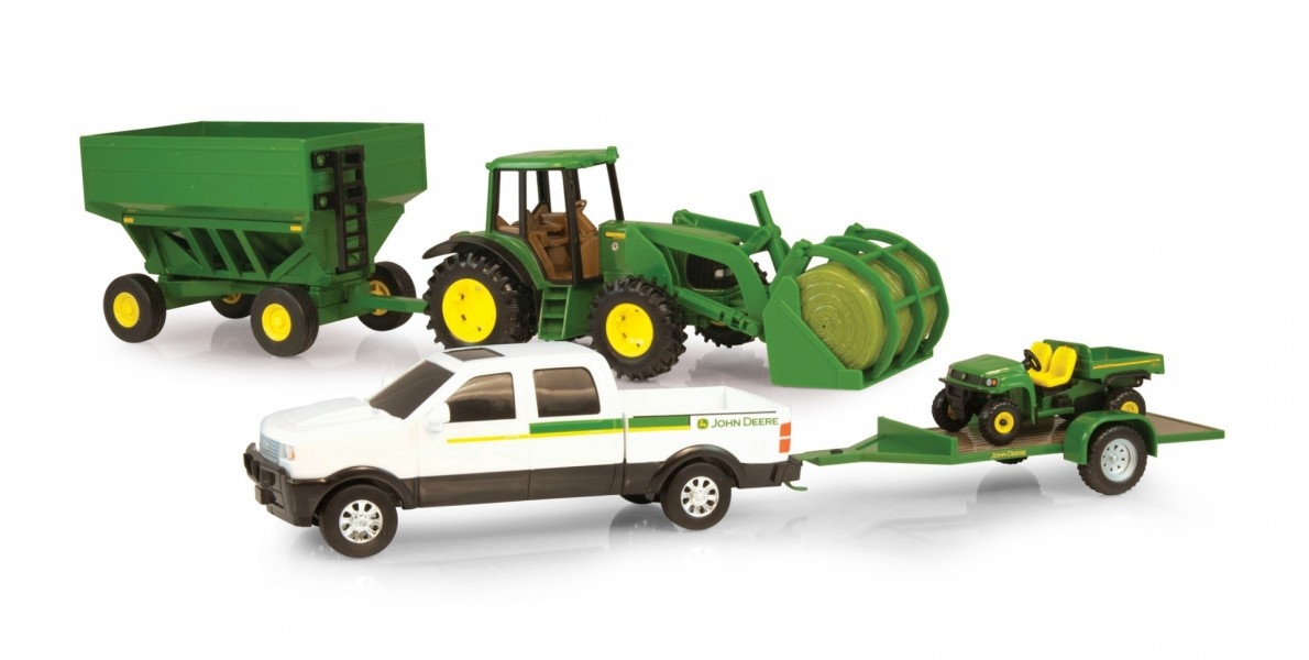 20cm JD Mega Hauling Set White