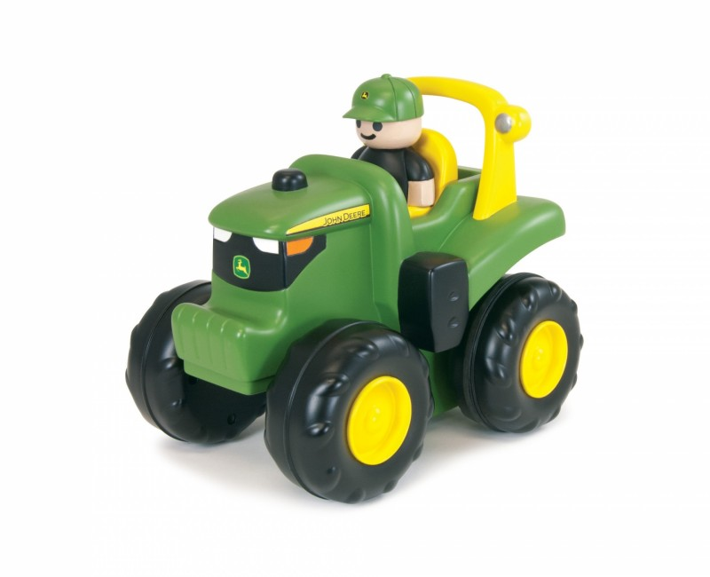 JD Monster Treads Push & Roll Tractor