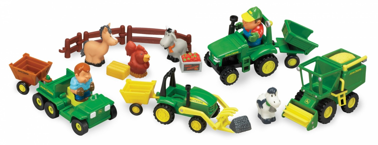 Fun on The Farm Playset