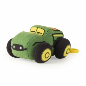 10cm Plush JD Vehicles Clip-On Gator