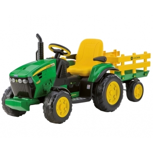 12v ground force tractor with stake wagon