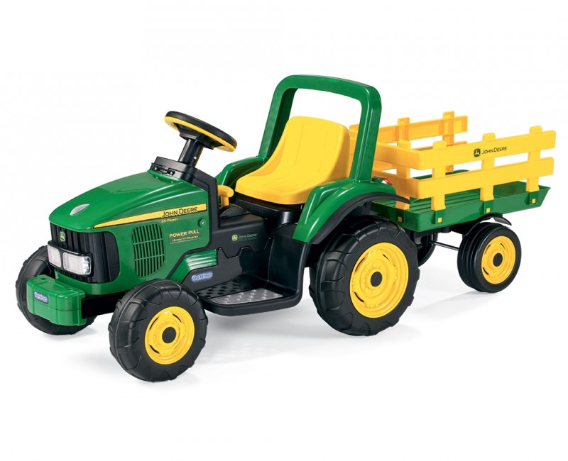 12V Farm Power Tractor w/Trailer