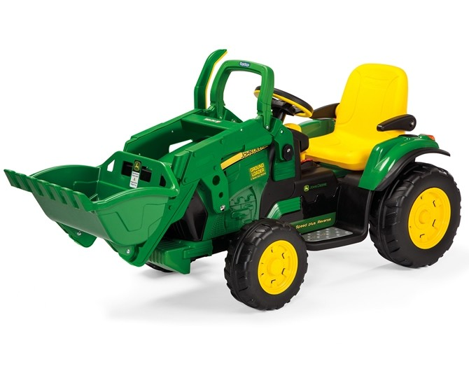 12V Ground Loader Tractor W/ Scoop