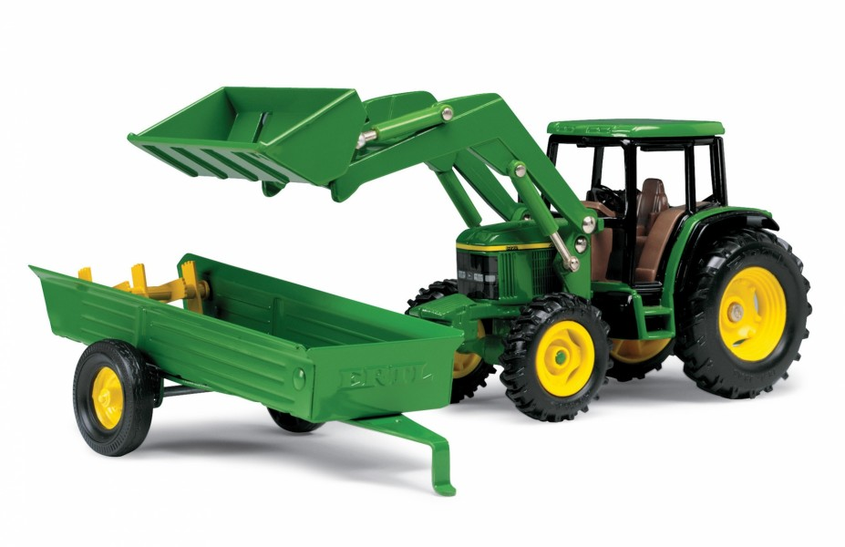 1/32 JD 6210 Tractor w/ Loader and Manur