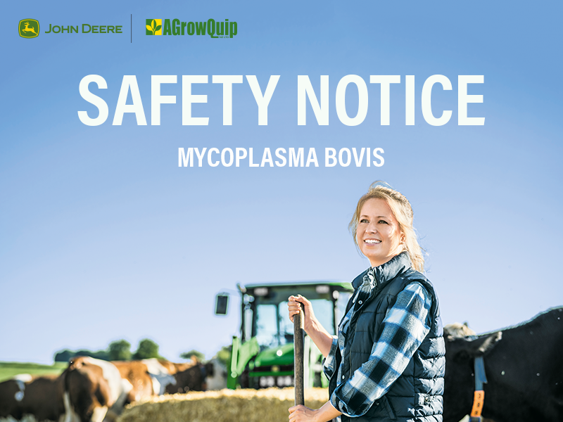 Read Article - Staff Safety and Mycoplasma Bovis