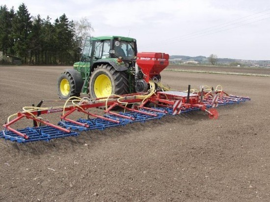 Hatzenbichler Tine Harrow Air Seeder Combo