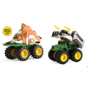 12 CM MONSTER TREADS FARM ARMOUR VEHICLE ASSORTMENT