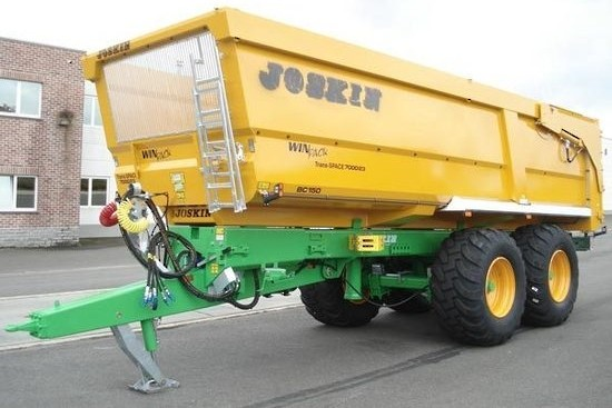 Joskin Trans-Space Agricultural Tipping Trailer