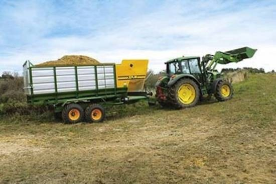 Sam Machinery 9 CUBIC METRE SIDE DELIVERY FEED WAGON