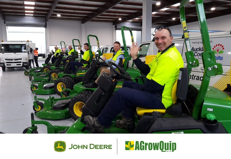 Read Article - New Mowers for UMS