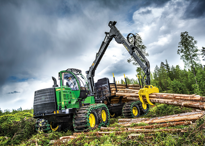 John Deere 1510G Forwarder