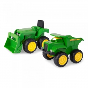 15cm Plastic Sand Pit Vehicles 2 Pack 35874