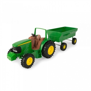 20cm Tractor with Wagon Set