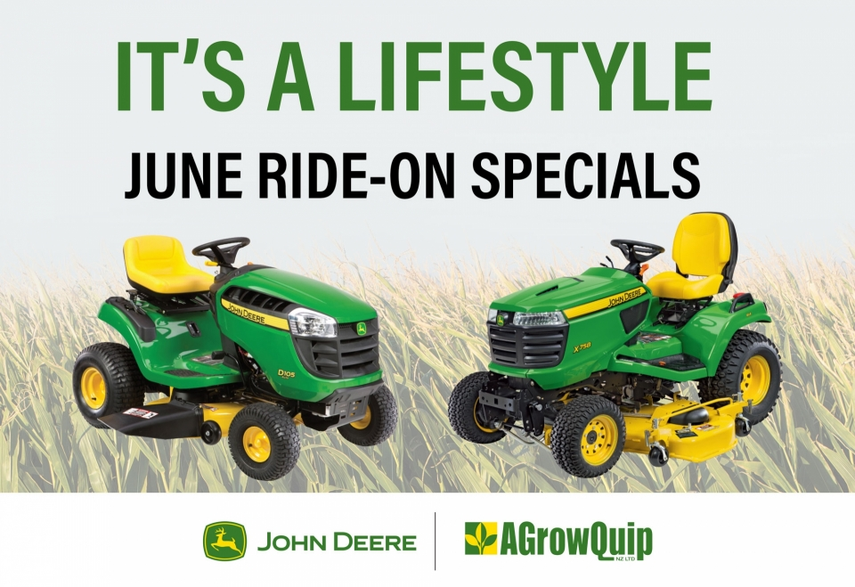 Read Article - June Ride-on Special