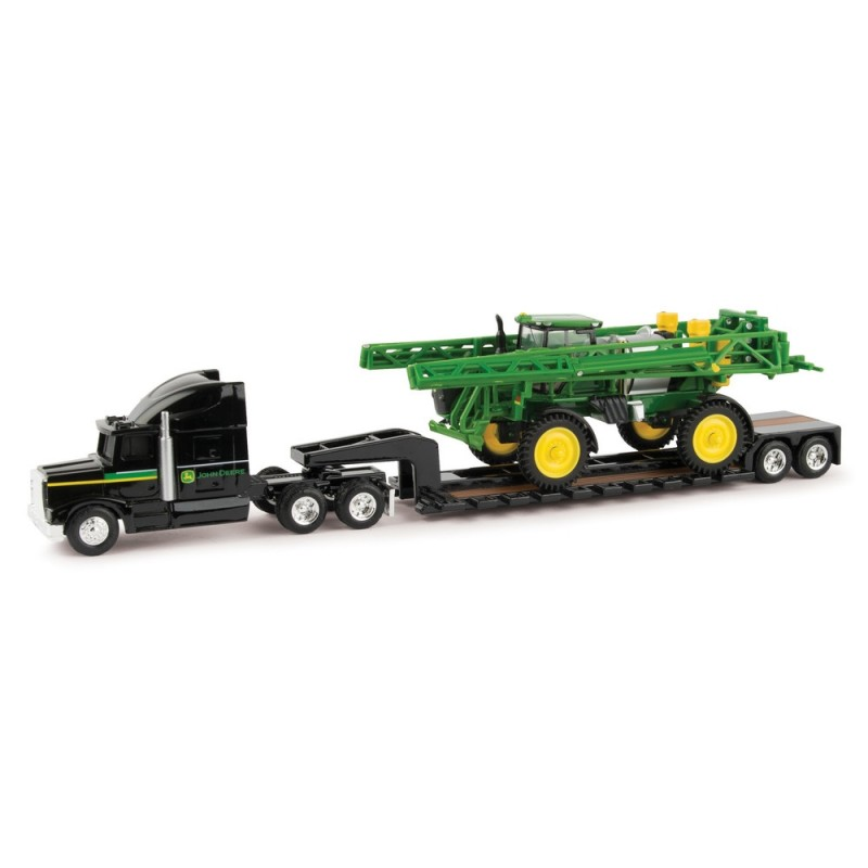 1:64 R4038 Sprayer w/ Semi & Lowboy Trailer