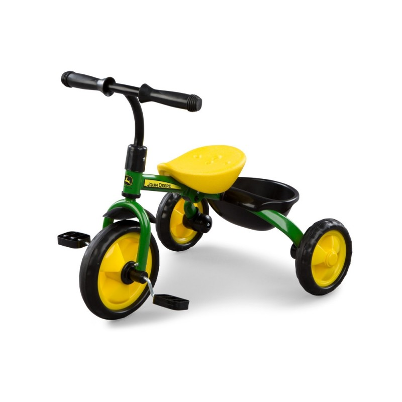 JD Tricycle Green (Steel)