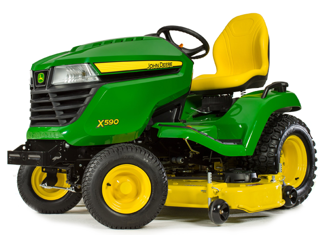 John Deere X590 Ride On Mower