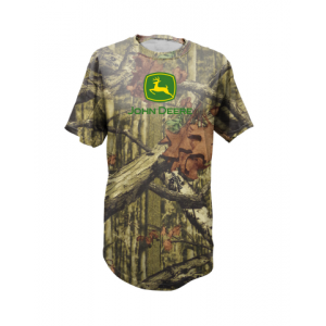 Mens Camo Tee - Green Logo