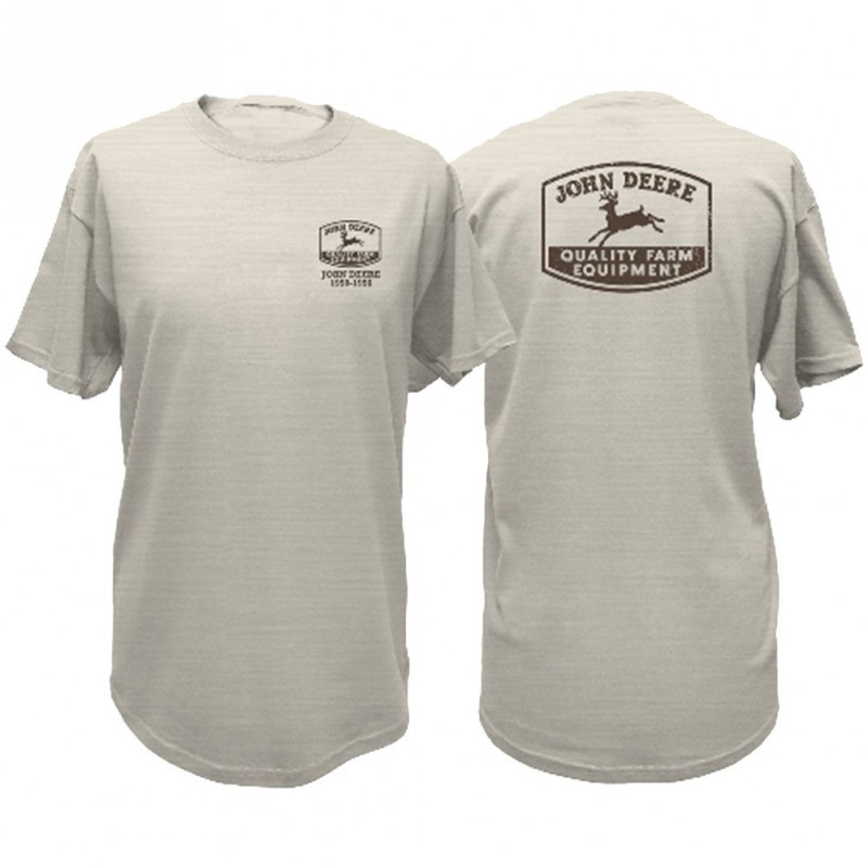 JD Logo Oatmeal T-Shirt